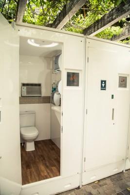 Foto - Banheiros Modulares de Luxo